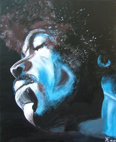 Jimi Hendrix par EECHAUTE
